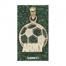 """Army Black Knights """"Army Soccerball"""" Pendant - 14KT Gold Jewelry"""