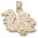 "South Carolina Gamecocks ""Gamecock"" 5/8"" Pendant - 14KT Gold Jewelry by"