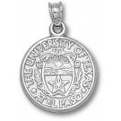 "UTEP Texas (El Paso) Miners ""Seal"" 5/8"" Pendant - Sterling Silver Jewelry"