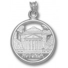 "Virginia Cavaliers ""Rotunda"" 5/8"" Pendant - Sterling Silver Jewelry"