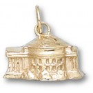 "Virginia Cavaliers 3-D ""Rotunda"" Charm - 14KT Gold Jewelry"