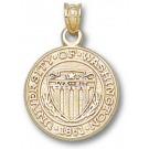 "Washington Huskies ""Seal"" Pendant - 14KT Gold Jewelry"