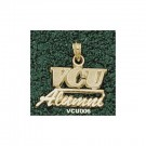 "Virginia Commonwealth Rams ""VCU Alumni"" Pendant - 14KT Gold Jewelry"