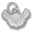"Rice Owls New ""Rice Flying Owl"" 3/8"" Charm - Sterling Silver Jewelry"
