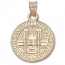 "Washington (St. Louis) Bears 5/8"" Seal Pendant - 14KT Gold Jewelry"
