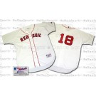 Johnny Damon Boston Red Sox Authentic Major League Baseball Jersey from Russell (Home)