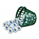 Kansas Jayhawks Golf Ball Bucket (36 Balls)