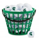 Michigan State Spartans Golf Ball Bucket (36 Balls)