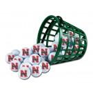 Nebraska Cornhuskers Golf Ball Bucket (36 Balls)