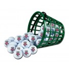 Wisconsin Badgers Golf Ball Bucket (36 Balls)