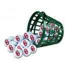 Oklahoma Sooners Golf Ball Bucket (36 Balls)