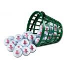 Houston Rockets Golf Ball Bucket (36 Balls)