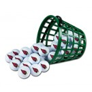 Arizona Cardinals Golf Ball Bucket (36 Balls)