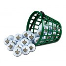 New Orleans Saints Golf Ball Bucket (36 Balls)