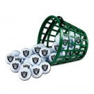 Oakland Raiders Golf Ball Bucket (36 Balls)