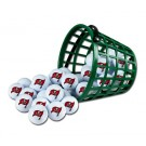 Tampa Bay Buccaneers Golf Ball Bucket (36 Balls)