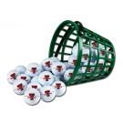 Texas Tech Red Raiders Golf Ball Bucket (36 Balls)