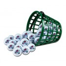 Colorado Avalanche Golf Ball Bucket (36 Balls)