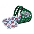 Montreal Canadiens Golf Ball Bucket (36 Balls)