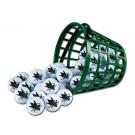 San Jose Sharks Golf Ball Bucket (36 Balls) by