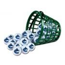 Vancouver Canucks Golf Ball Bucket (36 Balls)