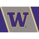 Washington Huskies 5' x 8' Team Door Mat by