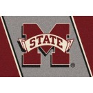 Mississippi State Bulldogs 5' x 8' Team Door Mat by
