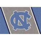 "North Carolina Tar Heels ""NC"" 7' 8"" x 10' 9"" Team Spirit Area Rug by"
