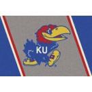 "Kansas Jayhawks 7' 8"" x 10' 9"" Team Spirit Area Rug by"