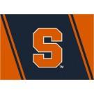 """Syracuse Orangemen """"S"""" 7' 8"""" x 10' 9"""" Team Spirit Area Rug by"""