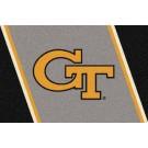 "Georgia Tech Yellow Jackets ""GT"" 7' 8"" x 10' 9"" Team Spirit Area Rug by"