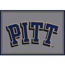 """Pittsburgh Panthers """"Pitt"""" 7' 8"""" x 10' 9"""" Team Spirit Area Rug by"""