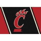 "Cincinnati Bearcats 7' 8"" x 10' 9"" Team Spirit Area Rug by"