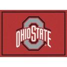"Ohio State Buckeyes ""Gray O"" 5'4""x 7' 8"" Team Spirit Area Rug"