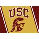 "USC Trojans 7' 8"" x 10' 9"" Team Spirit Area Rug by"