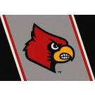 "Louisville Cardinals ""Mascot"" 7' 8"" x 10' 9"" Team Spirit Area Rug by"