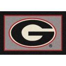 "Georgia Bulldogs ""G"" 7' 8"" x 10' 9"" Team Spirit Area Rug by"