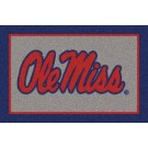 "Mississippi (Ole Miss) Rebels ""Ole Miss"" 7' 8"" x 10' 9"" Team Spirit... by"
