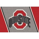 "Ohio State Buckeyes ""Red O"" 7' 8"" x 10' 9"" Team Spirit Area Rug by"