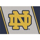 "Notre Dame Fighting Irish ""ND"" 5' 4"" x 7' 8"" Team Spirit Area Rug"