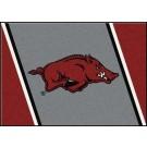 "Arkansas Razorbacks ""Running Razorback"" 7' 8"" x 10' 9"" Team Spirit... by"