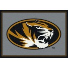 "Missouri Tigers 7' 8"" x 10' 9"" Team Spirit Area Rug by"