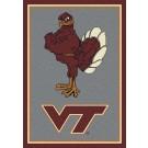 "Virginia Tech Hokies ""Vertical"" 7' 8"" x 10' 9"" Team Spirit Area Rug by"