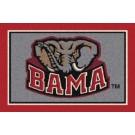 "Alabama Crimson Tide ""BAMA"" 7' 8"" x 10' 9"" Team Spirit Area Rug by"