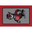 "North Carolina State Wolfpack ""Mascot"" 7' 8"" x 10' 9"" Team Spirit Area... by"