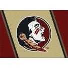 "Florida State Seminoles 7' 8"" x 10' 9"" Team Spirit Area Rug by"