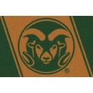 "Colorado State Rams 7' 8"" x 10' 9"" Team Spirit Area Rug by"