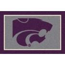 "Kansas State Wildcats 7' 8"" x 10' 9"" Team Spirit Area Rug by"