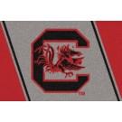 """South Carolina Gamecocks 7' 8"""" x 10' 9"""" Team Spirit Area Rug by"""