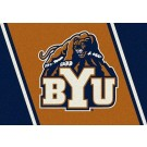 "Brigham Young (BYU) Cougars 7' 8"" x 10' 9"" Team Spirit Area Rug by"